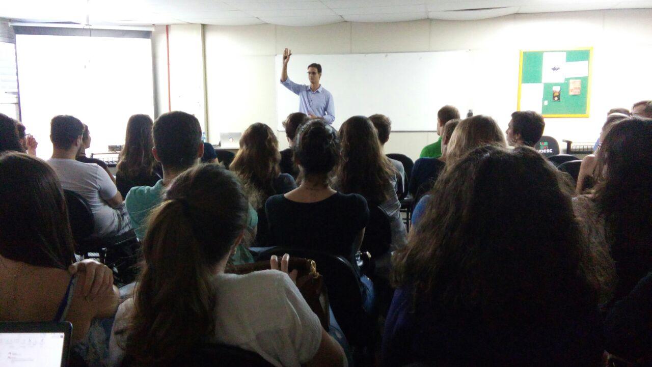 MOVTI participa da Jornada Acadêmica de Administração da ESAG