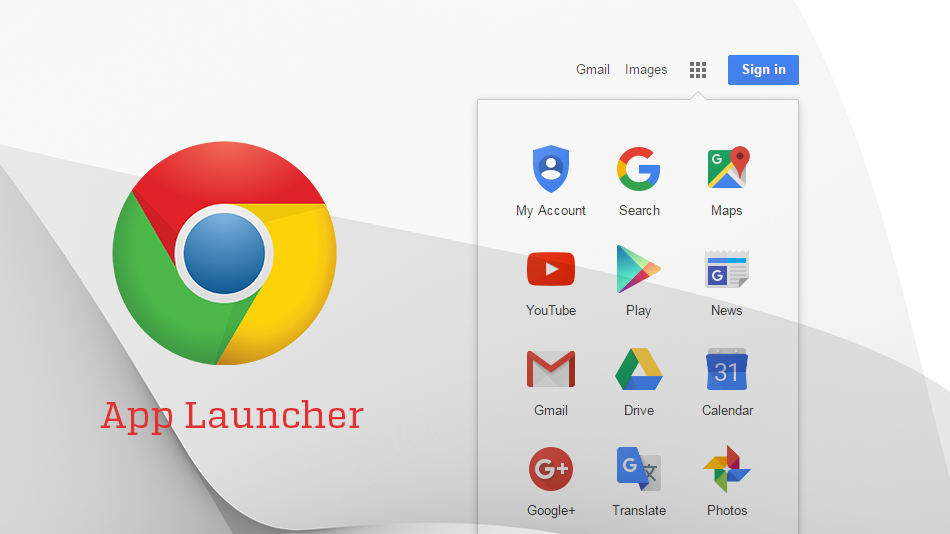 Nova ordem padrão de aplicativos no App Launcher.