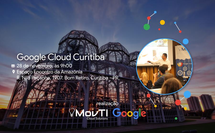 Vivencie uma experiência Google Cloud em Curitiba